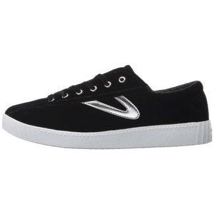 TRETORN Velvet Lace Up Sneakers